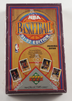 1991-92 Upper Deck Basketball Inaugural Edition Hobby Box with (36) Packs at PristineAuction.com