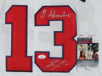 """Ronald Acuna Jr. Signed Braves Jersey Inscribed """"El Abusador"""" (JSA COA) at PristineAuction.com"""