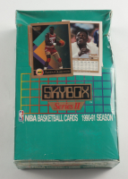 1990-91 Skybox Series 2 Basketball Hobby Box with (36) Packs (See Description) at PristineAuction.com