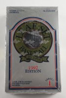 1992 Leaf Series 1 Baseball Wax Box With (36) Packs at PristineAuction.com