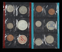 1969 U.S. Mint Uncirculated Coin Set with (10) Coins at PristineAuction.com