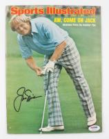 Jack Nicklaus Signed 1975 Sports Illustrated Magazine (PSA COA) (See Description) at PristineAuction.com