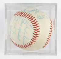 1975 Tigers OAL Baseball Team-Signed by (25) with Ralph Houk, John Knox, Mickey Lolich, Verne Ruhle, Jim Hegan with Display Case (SportsCards LOA) at PristineAuction.com