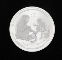 2016 $1 One Dollar Australian Lunar Series II Year of the Monkey Silver Proof Coin at PristineAuction.com