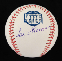 Lee Thomas Signed OML Commemorative Baseball (JSA COA) at PristineAuction.com