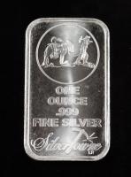 10 Ounce .999 Fine Silver Silver Towne Bullion Bar at PristineAuction.com