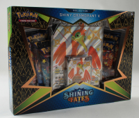 Pokemon TCG: Shining Fates Shiny Cramorant V Box with (5) Booster Packs at PristineAuction.com