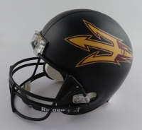 Terrell Suggs Signed Arizona State Sun Devils Matte Black Full-Size Helmet (JSA Hologram) (See Description) at PristineAuction.com