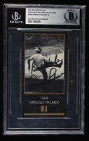 Arnold Palmer Signed 1997-98 Grand Slam Ventures Masters Collection #1964 (BGS Ecapsulated) at PristineAuction.com