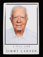 """Jimmy Carter Signed """"A Full Life"""" Hardcover Book (JSA COA) (See Description) at PristineAuction.com"""