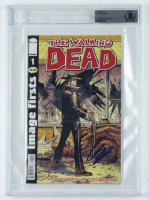 """Chanlder Riggs Signed """"The Walking Dead"""" Issue #1 Comic Book (BGS Encapsulated) (See Description) at PristineAuction.com"""