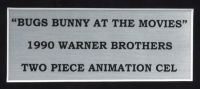"""Warner Bros. """"Bugs Bunny At The Movies"""" 13x16 Custom Framed (2) Piece Animation Serigraph Display at PristineAuction.com"""