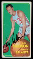 Lou Hudson Signed 1970-71 Topps #30 (JSA Hologram) at PristineAuction.com