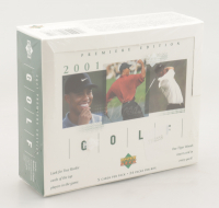 2001 Upper Deck Golf Premiere Edition Card Box with (24) Packs (See Description) at PristineAuction.com