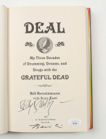 """Bill Kreutzmann & Benjy Eisen Signed """"Deal: My Three Decades Of Drumming, Dreams, And Drugs With The Grateful Dead"""" Hardcover Book (JSA COA) at PristineAuction.com"""