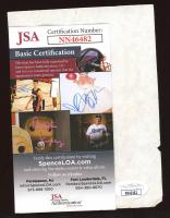 "Gordie Howe Signed 4x6 Embassy Suites Paper Inscribed ""Best Regards"" (JSA COA) at PristineAuction.com"