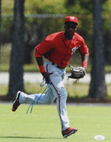 Victor Robles Signed Nationals 11x14 Photo (JSA COA) at PristineAuction.com