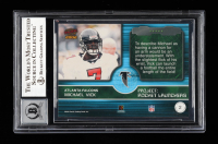 Michael Vick Signed 2002 Pacific Rocket Launchers #2 (BGS Encapsulated) at PristineAuction.com