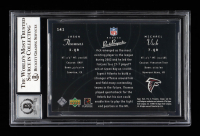 Michael Vick Signed 2003 Upper Deck Pros and Prospects #141 RC (BGS Encapsulated) at PristineAuction.com