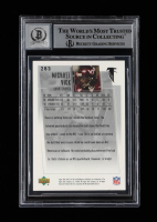 Michael Vick Signed 2001 Upper Deck MVP #283 RC (BGS Encapsulated) at PristineAuction.com