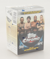 2019 Topps Chrome UFC Blaster Box with (8) Packs at PristineAuction.com