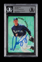 Alex Rodriguez Signed 1995 Emotion Rookies #10 (BGS Encapsulated) at PristineAuction.com