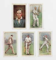 1928 Will's Cricketers of 1928 Complete Set of (50) Cards at PristineAuction.com