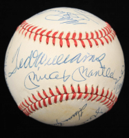 500 Home Run Club ONL Baseball Signed by (11) with Mickey Mantle, Hank Aaron, Willie Mays, Eddie Mathews, Willie McCovey (JSA ALOA) at PristineAuction.com