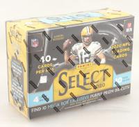 2020 Panini Select Football Trading Cards Mega Box with (10) Packs at PristineAuction.com