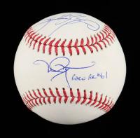 "Mark McGwire & Sammy Sosa Signed OML Baseball Inscribed ""Race For #61"" (MLB Hologram & Beckett COA) at PristineAuction.com"