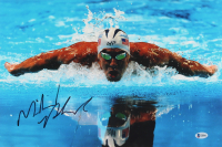 Michael Phelps Signed 12x18 Photo (Beckett COA) at PristineAuction.com