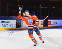 Connor McDavid Signed Oilers 16x20 Photo (JSA COA) at PristineAuction.com