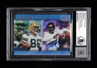 Michael Vick Signed 2001 Topps Chrome Combos #TC13 (BGS Encapsulated) at PristineAuction.com