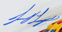 Joey Logano Signed NASCAR #22 10x18 Photo (PA COA) at PristineAuction.com