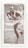 """1939 Churchman """"Kings Of Speed"""" Complete Set of (50) Cards with #45 Jesse Owens at PristineAuction.com"""