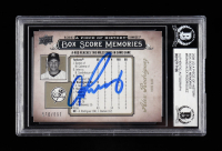 Alex Rodriguez Signed 2008 UD A Piece of History Box Score Memories #BSM40 #570/699 (BGS Encapsulated) at PristineAuction.com