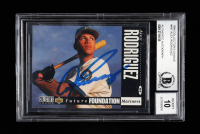 Alex Rodriguez Signed 1994 Collector's Choice #647 RC (BGS Encapsulated) at PristineAuction.com