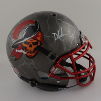 Devin White Signed Full-Size Authentic On-Field Hydro Dipped Helmet (Beckett COA) (See Description) at PristineAuction.com