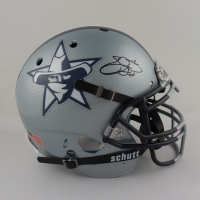 Emmitt Smith Signed Full-Size Authentic On-Field Hydro Dipped Helmet (PROVA COA) at PristineAuction.com