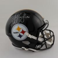 JuJu Smith-Schuster Signed Steelers Full-Size Speed Helmet (JSA COA) (See Description) at PristineAuction.com