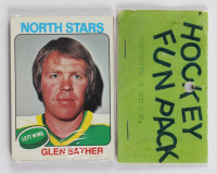 1975 Topps Hockey Card Fun Pack with (10) Cards (See Description) at PristineAuction.com