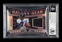 Michael Vick Signed 2019 Panini Obsidian Galaxy Gear Materials #27 (BGS Encapsulated) at PristineAuction.com