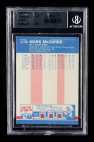 Mark McGwire 1987 Fleer Update Glossy #76 (BGS 8.5) at PristineAuction.com