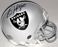 Bo Jackson Signed Raiders Mini Helmet (Jackson Hologram) at PristineAuction.com