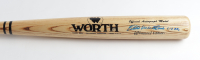 "Eddie Matthews Signed Worth Baseball Bat Inscribed ""512 HRs"" (Beckett COA) at PristineAuction.com"