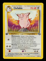 Clefable 1999 Pokemon Jungle 1st Edition #17 at PristineAuction.com