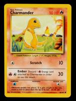 Charmander 1999 Pokemon Base Unlimited #46 at PristineAuction.com