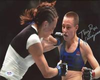 "Rose Namajunas Signed UFC 8x10 Photo Inscribed ""Thug"" (PSA COA) at PristineAuction.com"