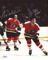 Rick MacLeish & Jim Watson Signed Flyers 8x10 Photo (PSA COA) at PristineAuction.com