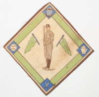 Ty Cobb Tigers 1914 Felt Blanket Series Piece at PristineAuction.com